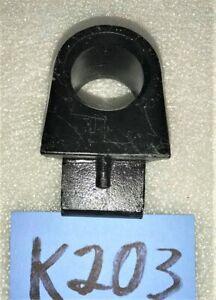 USED OEM .. '53 - '62 TRIUMPH TR2 - TR3B STARTING HANDLE GUIDE    K203