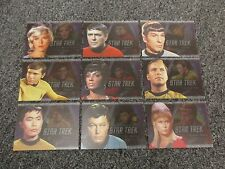 Star Trek Original Series 50th Anniversary Bridge Crew Heroes Insert Set - TOS