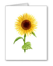 Sunflower Note Cards With Envelopes