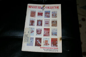 Miniature Collector February 1980 # 17 3rd Anniversary Issue 56 Pages Dollhouses
