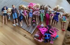 13+ Piece Barbie mixed lot dolls mattel Used Clean one Owner