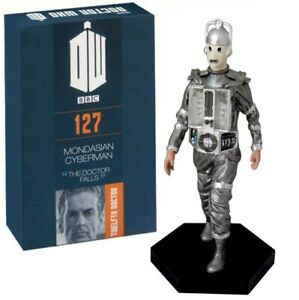 Doctor Who Figure Mondasian Cyberman #127 NEW BUT DAMAGED BOX