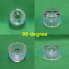 5pcs 90 degree PMMA Waterproof Lens for 1W 3W 5W LED Lamp Light Spotlight Bulb