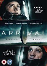 ARRIVAL      BRAND NEW SEALED GENUINE  UK DVD