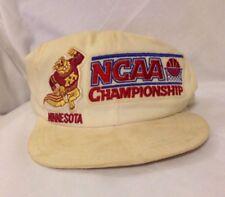 DESTROYED Vintage U. Of Minnesota Golden Gophers NCAA Championships Snapback Hat