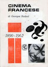 GEORGES SADOUL – CINEMA FRANCESE 1890-1962