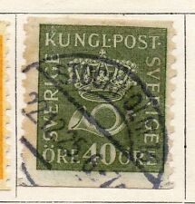 Sweden 1920-25 Early Issue Fine Used 40ore.  118401
