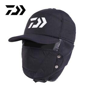 DAIWA Fishing Winter Thermal Hats Men Women Fashion Ear Protection Windproof Ski