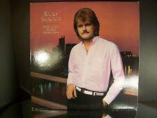 Original  Ricky Skaggs Don't cheat In Our Hometown 1983 Vinyl Record Album Promo