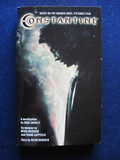 CONSTANTINE - SIGNED by JOHN SHIRLEY - Novelization of KEANU REEVES Film
