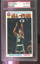 1976 Topps #131 Dave Cowens Celtic All-Star PSA 8 Graded Basketball Card 1976-77