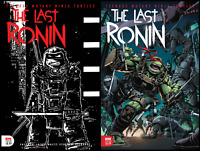 TMNT THE LAST RONIN #1 3RD PRINT AND #2 1ST PRINT IDW PUBLISHING