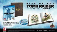 Rise of The Tomb Raider: 20 Year Celebration (PS4, 2016)