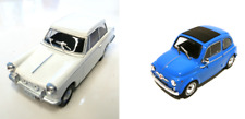 Set of 2 model cars Triumph Herald + Fiat 500 - 1:43 DIECAST LOT CAR