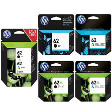 Genuine HP 62 Combo or 62XL Black / Colour Ink Cartridges for ENVY 5640 5540