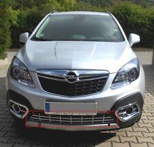 Griglia in abs cromo cromata paraurto anteriore per Opel Mokka