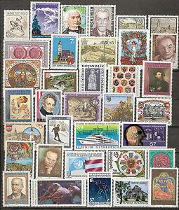 Österreich 1990 Kompletter Jahrgang Postfrisch ** MNH