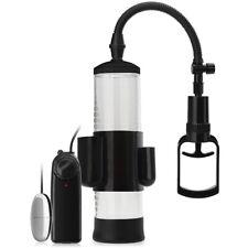 Vibrierende Pumpe mit Druckmesser zur Penisvergrößerung + Vibro Ei