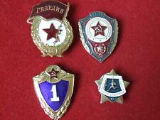 Konvolut Abzeichen 4-set Garde Gardestern 1.Klasse Soldat UdSSR USSR orden Armee