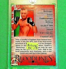 """*CONOR McGREGOR* >DEBUT RED """"RUBY"""" ROOKIE CARD< !! 2013 TOPPS UFC *(XRARE(#2/8)*"""