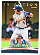 2013 Panini USA Baseball IN ACTION MICHAEL CONFORTO RC Rookie Mets QTY AVAILABLE