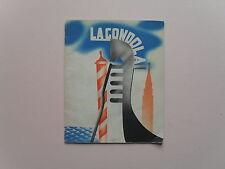 La Gondola - Tourist Promotion - Italian State Tourist Department, 1936 - Scarce