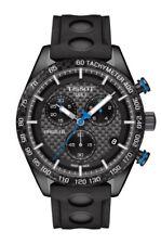 Tissot PRS 516 Chronograph (T1004173720100) schwarze Armbanduhr für Herren