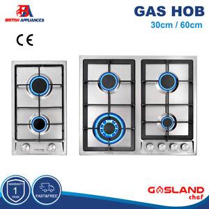 Gasland chef 30cm 60cm 2 4 Burner Stainless Steel Gas Hob FFD LPG with NG Kit