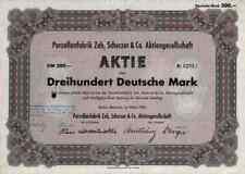 Dedo del pie Scherzer 1953 Rehau marktredwitz Schirnding Würzburg 300 dm bonn colonia