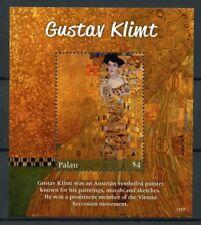 Palau 2017 MNH Gustav Klimt 1v S/S Art Paintings Stamps