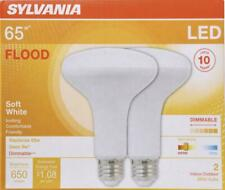 2 (Two) of Sylvania Ultra LED 9 BR30 Flood 65w - 9w - Dimmable - Indoor/Outdoor
