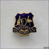 Commonwealth Railways Lawn Bowls Hat Pin Badge (K5)