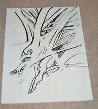 RICHARD HUNT AFRICAN AMERICAN ARTIST RARE CANCELLATION PROOF nfs LITHOGRAPH