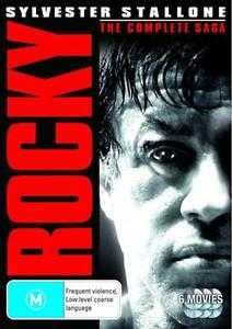 ROCKY 1 2 3 4 5 BALBOA : NEW 6 Movies DVD