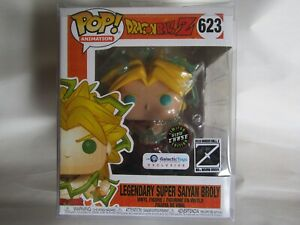 Funko Pop Legendary Super Saiyan Broly, Dragonball Z Chase Glow Edition