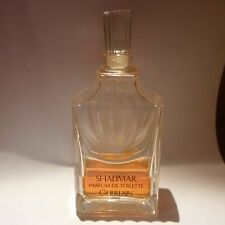 SHALIMAR GUERLAIN PARFUM DE TOILETTE 75 ML!!! NOT VAPO!!! RARE AND VINTAGE!!!
