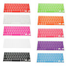 "US Version Keyboard Cover Skin For Apple MacBook Air Pro Mac Retina 13"" 15"" 17"""