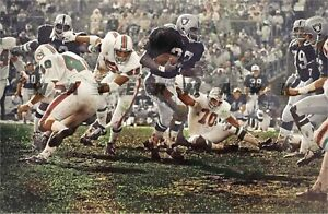 Miami Dolphins at Oakland Raiders - December 27th, 1970 PRINT FROM NEGATIVE