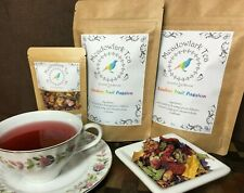 Rainbow Fruit Passion Real Fruit-Infused Herbal Loose Leaf Medicinal Tea Blend