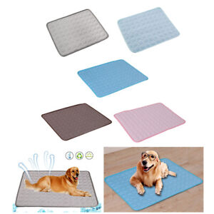 Pet Cooling Mat Portable Car Seats Dog Cool Pad Bed Sofa Puppy Blanket Pads