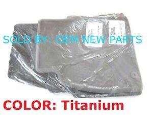 2012 2013 Buick LaCrosse Carpet Floor Mat Set Front & Rear Set COLOR: Titanium