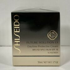 Shiseido Future Solution LX Daytime Protective Cream SPF 18 1.7oz/50ml NEW NIP