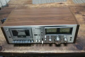 TECHNICS RS-631 STEREO CASSETTE Tape DECK, Tested Nice, See Pics