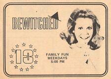 1975 WVEC TV AD~BEWITCHED LIZ MONTGOMERY~NORFOLK,VIRGINIA channel 13