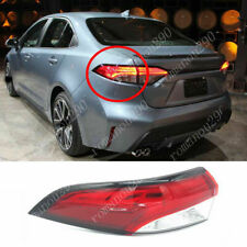 For Toyota Corolla XSE XLE Sedan 2020-2021 Left Side Outer Tail Lights Housing