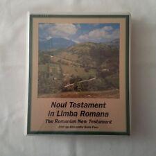 Noul Testament in Limba Romana/The Romanian New Testament