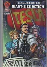 RED GIANT 2014 Free Comic Book Day Tesla  Comics * THE FUTURE IS MINE