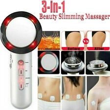 3 in 1 Ultrasonic RF Cavitation Fat Remover Body Slimming Anti-Cellulite Device