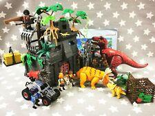 Playmobil Dinosaur Playset Bundle, 9429 & 9434 Hidden Temple & Enemy Quad
