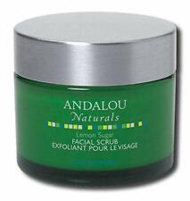 Andalou Naturals Clarifying Facial Scrub Lemon Sugar - 1.7 Fl Oz